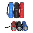 Customized 6LED Flashlight With Wrist Strap