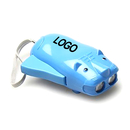 Customized Hand Generator Tiger Shaped Flashlight with Hand Strap