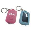Customized Three Lamps of Solar Energy Flashlight Keychain