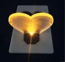 Blank Heart Shape Led Pocket Card Light
