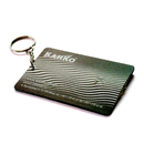 Custom Pocket Card LED light with Keychain, Full Colors Printed, 2.17