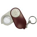 Blank Magnifying Glass Led light with Keychain, 1