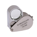 Blank 30x Light Up Magnifier Loupe w/ 2 LED, 3.15