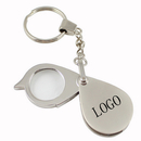 Custom Metal Key Holder With Magnifier - 8X Power Lens, 5