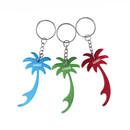 Custom Palm Tree Bottle Opener with Key Chain, 2 3/4