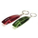 Custom Fish Shaped Bottle Opener with Keychain, Silk Printed, 2.64