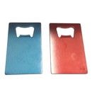 Blank Colorful Credit Card Shaped Bottle Opener, Stainless Steel, 3 3/8