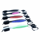 Custom Dual-sided Brush Cleaning Brush with Carabiner, 7