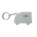Custom Truck Measuring Tape Keychain, 40 inch tape, Silkscreen