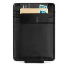 Blank Genuine Leather Money Clips RFID Blocking Wallet Card Holder, 4-3/10