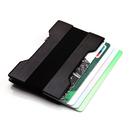 Blank Slim Wallet RFID Aluminum Metal Card Wallet, 3-2/5