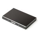 Blank RFID Credit Card Wallet Stainless Steel Protector Wallet, 3-4/5