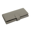 Blank Womens Clutch Wallet RFID Blocking Genuine Leather, Trifold Wallet for checkbook & iPhone 6/6S/7, 7