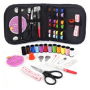 Opromo Portable Mini Sewing Kit Travel Sewing Set for DIY