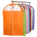 Colorful Non-Woven Zippered Clothes Covers, Garment Bags, 3 Sizes Available