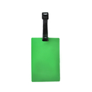 Blank Soft Rectangle Luggage Tag w/ Pocket, 2-3/8