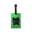 Custom 3D Soft Rectangle Luggage Tag w/ Pocket, 2-3/8