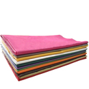 Premium Rectangle Plastic Table Cover, Solid Color Table Cloth, 54