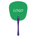 Custom Hand Fans with Plastic Handle, 7