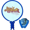 Custom Non-woven Pop Up Fan with Double Handle, 8