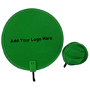 Custom Nylon Pop Up Fan with Mini Plastic Handle, 8