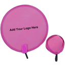 Custom Non-woven Pop Up Fan with Mini Plastic Handle, 8