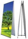 Custom L Banner Stand Double Sided 31.50