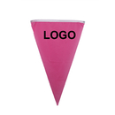 Custom Printed Triangle Nylon Flags/Pennant 2 1/2
