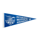 Blank Colored Pennant with 1