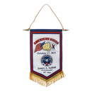 Custom Wall & Podium Satin Banner, 8