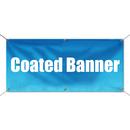 Custom Waterproof Coated Banner with Grommets for Indoor & Outdoor Advertising, 15 oz