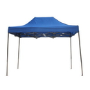 Custom 6.6' x 10' 420D Polyester Fabric Tent with Steel Frame - One Color Imprint