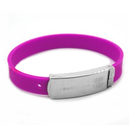 Promotional Metal Silicone Bracelet
