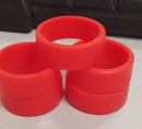 Screen Printed Silicone Thumb Ring/ Silicone Finger Ring
