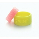Debossed Silicone Thumb Ring/ Silicone Finger Ring
