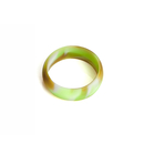 Custom Swirl Color Debossed Silicone Rings, 2 mm Thickness