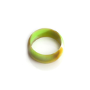 Custom Swirl Color Debossed Silicone Rings, 3 mm Thickness