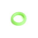 Blank Kids Solid Color Silicone Rings, 2 mm Thickness