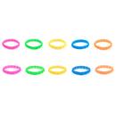 Customized Embossed Silicone Wristband, 8