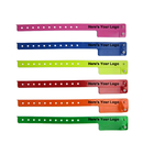 Custom Vinyl Cash Tag Wristband (2 Tab)