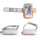 Custom Arm Band For Smart Phone With Reflective Tape, 3-3/8