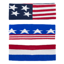 GOGO US Flag Headbands / Patriot Style Wide Headband - Wholesale