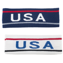 GOGO USA Headband, Elastic Headbands Patriotic Awareness - Wholesale