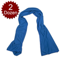 (Price/2 Dozens) GOGO Sports Instant Cooling Towel, Golf Towel, Yoga Towel, Travel Towel, Gym Towel - Various Colors, 34