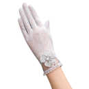 Opromo Women Lace Touchscreen Gloves Summer Sun UV Protection Driving Gloves