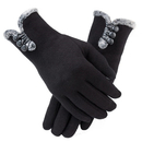 Opromo Womens Touchscreen Gloves Winter Thick Warm Lined Driving Texting Gloves