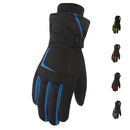 Opromo Men Women Ski Gloves Winter Waterproof Snow Riding Touchscreen Gloves