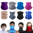 Muka Blank Neck Gaiter Cycling Motorcycle Balaclava Multifunctional Headgear for Outdoor