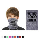 Opromo Personalized Custom Kid UV Neck Gaiter Teens Cooling Face Scarf for Summer Winter Cycling Hiking Outdoor, 11 in x 7.5 in