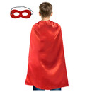 Opromo Superhero Cape and Mask Sets,Halloween Costumes and Dress-Up For Kids & Adults
